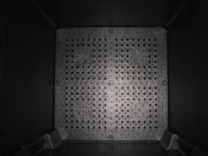 HotBin internal aeration plate
